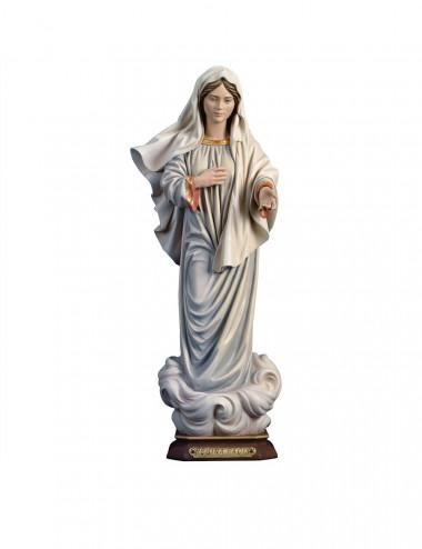 San Bartolomeo con coltello, scultura in legno