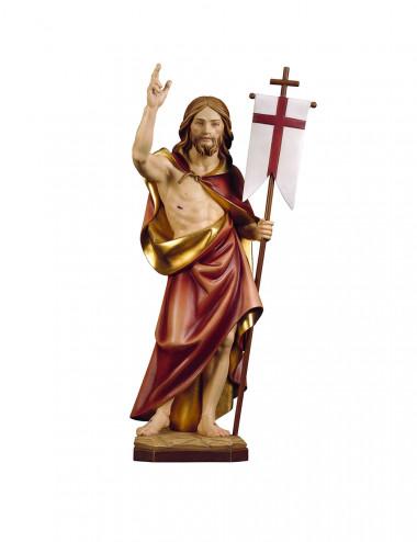 Sacro Cuore di Gesù scolpito in legno