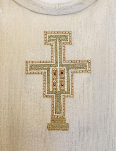 San Benedetto con Libro e Corv